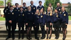 Chillicothe FFA Members attend LEAD training