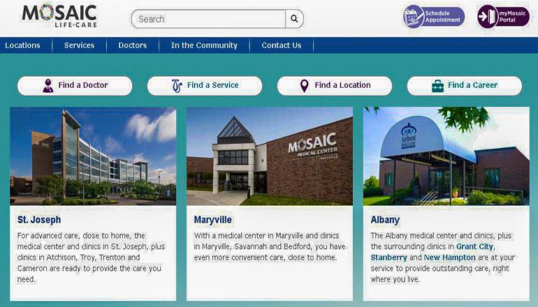 Northwest Medical Center Albany Missouri (Mosaic)