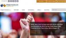 Pinky Swear Foundation Website