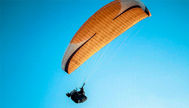 Audio: One man injured in skydiving accident near Lake of