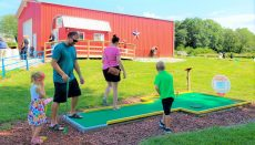 Backpack Buddies Mini Golf Fundraiser