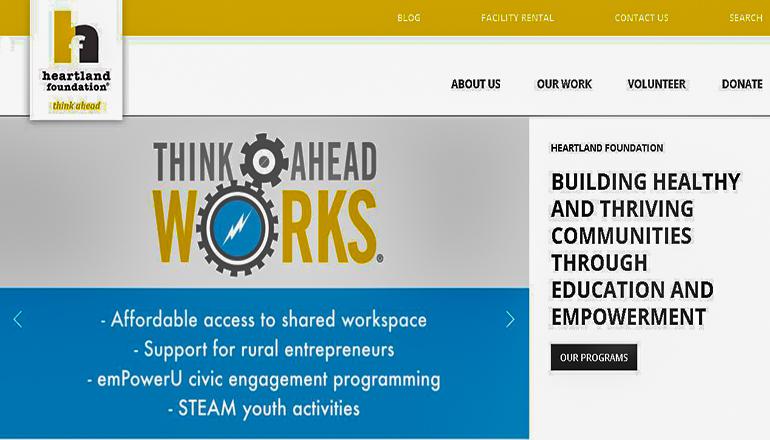 Heartland Grant Foundation Website
