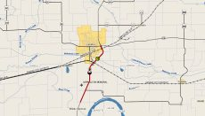 Highway 65 Closed MoDOT Map