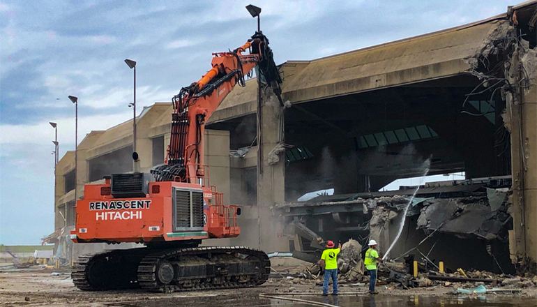 KCI Airport demolition