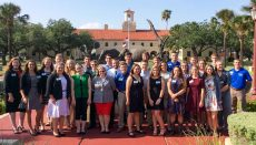 Kacie Persell attends 4-h shooting sports ambassador training