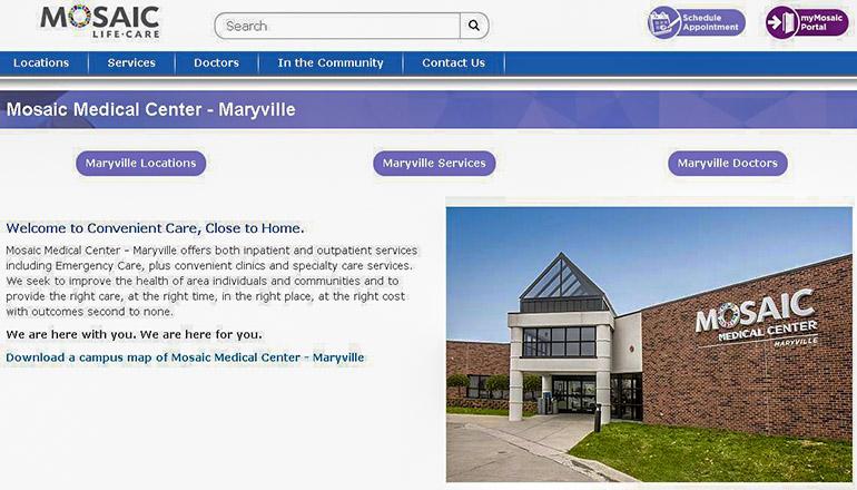 Mosaic Medical Center Maryville, Missouri