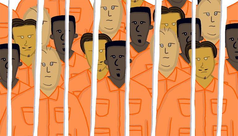 Overcrowded Jail