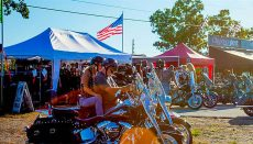 Motorcycles at Bikefest