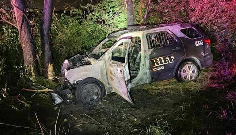Cass County Sheriff Deputy Crash