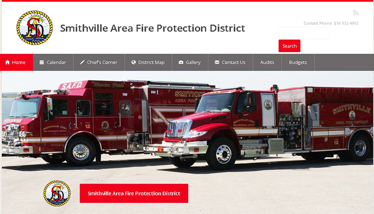 Smithville Fire Protection District Website
