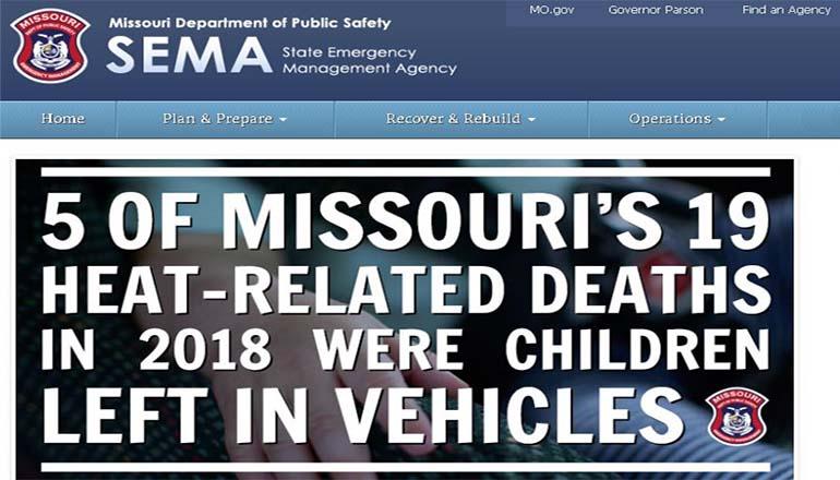 State Emergency Management Agency (SEMA) Website