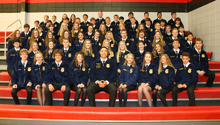Chillicothe FFA Greenhand Initiation 2019