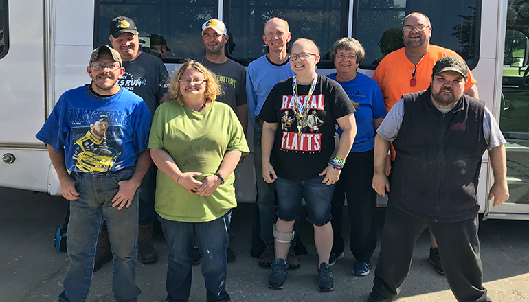 Families and Friends of the Developmentally Disabled with Bus
