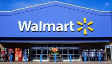 Front view of a Walmart supercentre