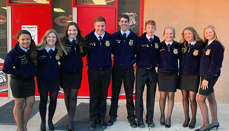 Chillicothe FFA Students take part in Fall Speaking Contest