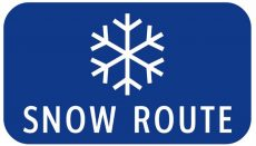 Emergncy Snow Route