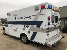 New Ambulance for Grundy County