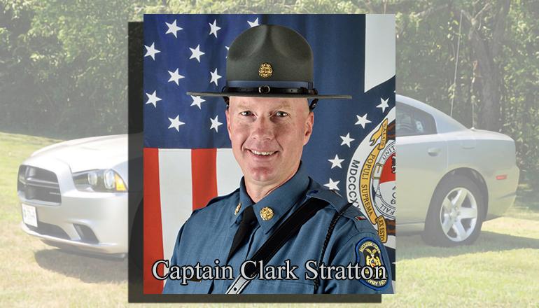 Captain Clark Stratton Commander Troop H MSHP