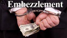 Embezzlement Graphic