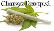 Marijuana Possession Charges Dropped