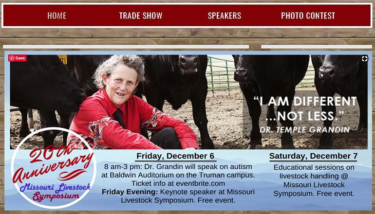 Missouri Livestock Symposium website