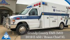 New Grundy County Ambulance