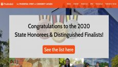 Prudential Spirit of Community Awards website