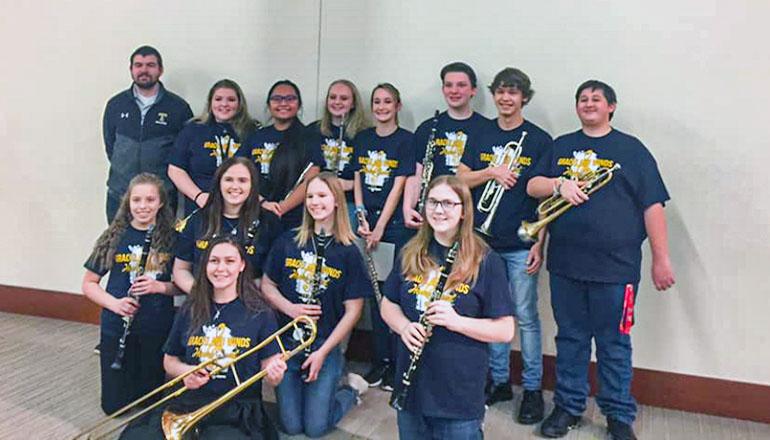THS Band at Graceland University