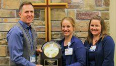 Wright Memorial Hospital Employee of the Year Jamie Kottwitz