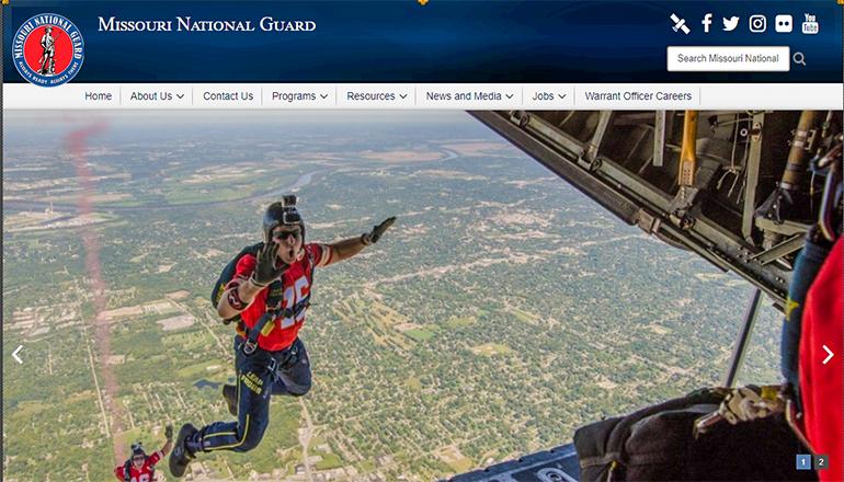 Missouri National Guard Website