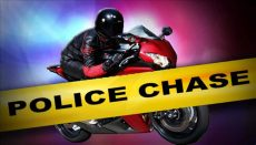 Motorcycle Police Chase or Pursuit