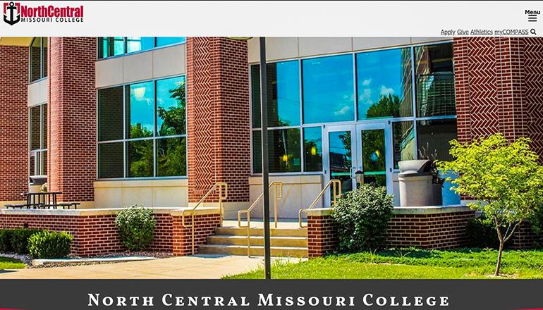 North Central Missouri College website 2020 final