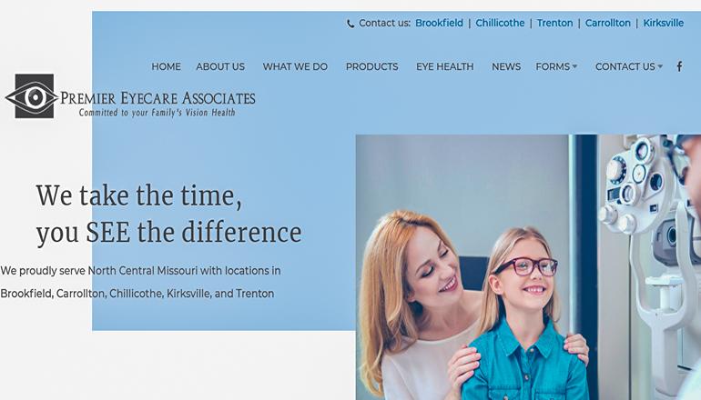 Premier Eycecare Website Final