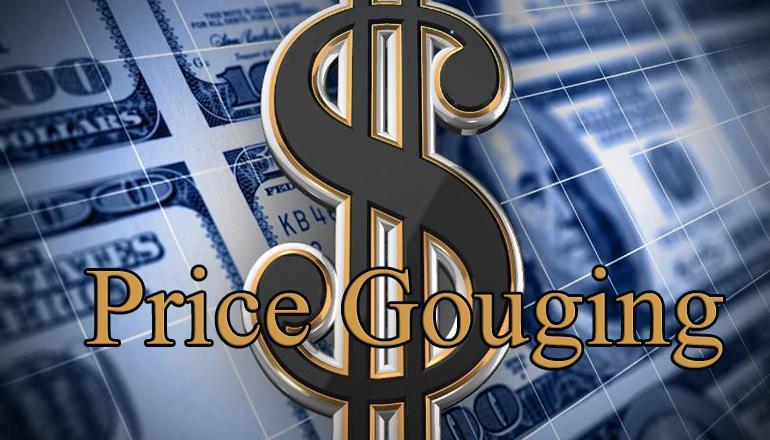 Price Gouging Graphic