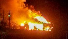 Red Barn Wedding Venu Fire