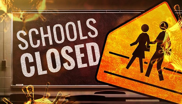 Schools Closed COVID-19 (Coronavirus)