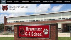 Braymer School District websitre