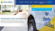 Liberty Utilities Website