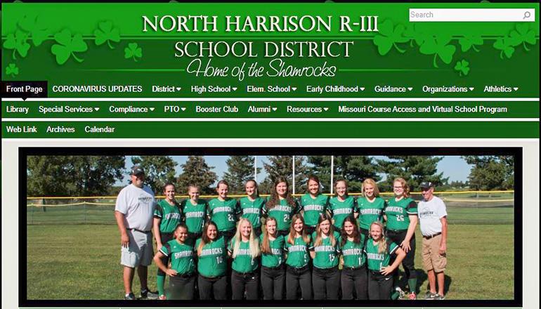 North Harrison R-3 School District website