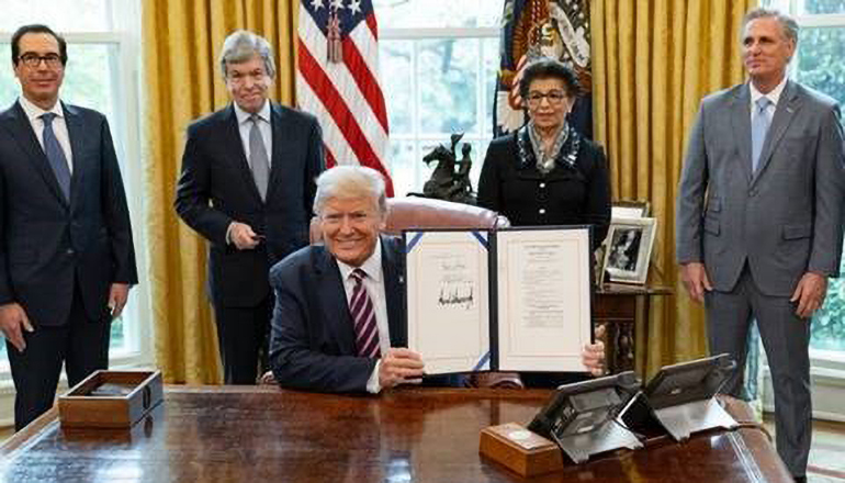 President Trump Signs Paycheck Protection Program