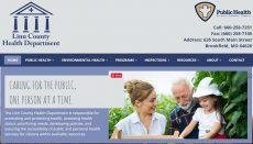 Linn County Health Department Website