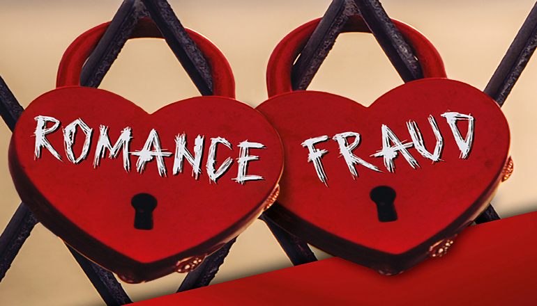 Romance Fraud graphic