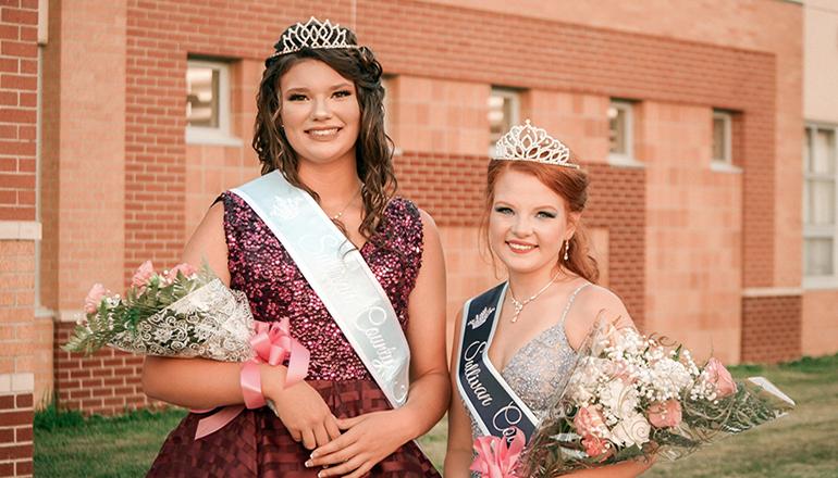 2020 Sullivan County Fair Queen and Junior Miss