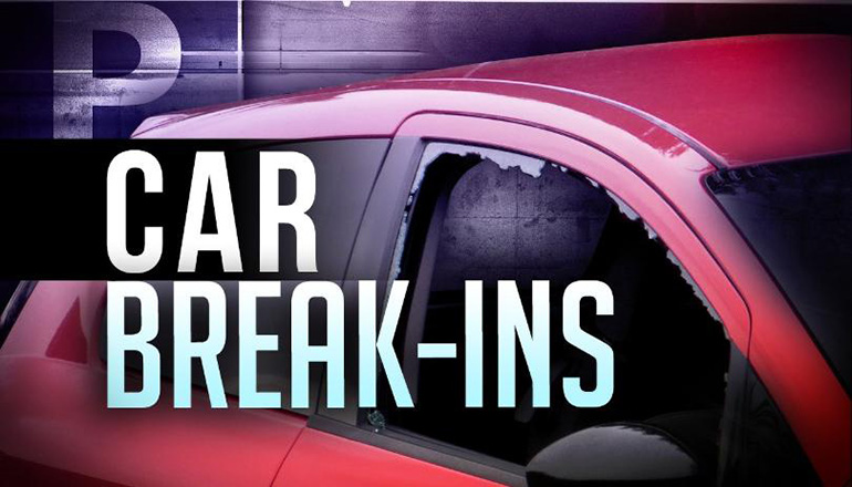 Car or Vehicle Break-In (Burglary)(Theft) Graphic