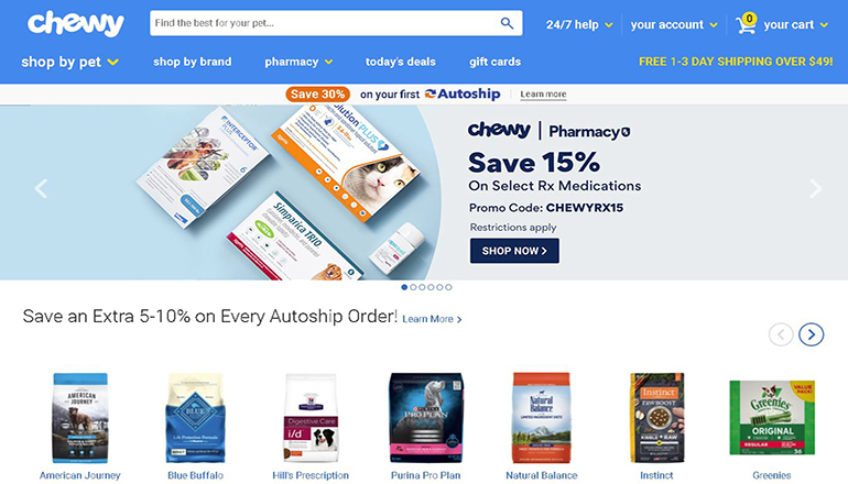 Chewy Website