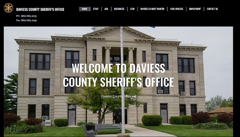 Daviess County Sheriff Website
