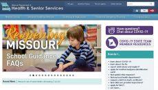 Missouri Department of Health and Senior Services Website