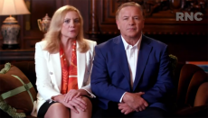 Mark and Patricia McCloskey speak during 2020 Republican National Convention