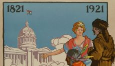Missouri Centennial Poster