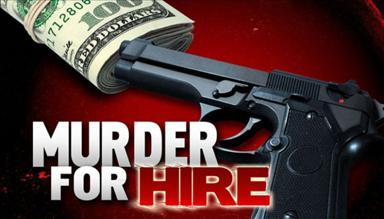 Murder for Hire news Graphic